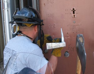 Streetsmart Forcible entry